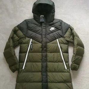 NWT Nike Down Fill Windrunner Parka Jacket